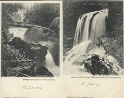 Austria - Bärenschlucht Im Ferleitenthal.  2 Old Cards. S-4466 - Austria