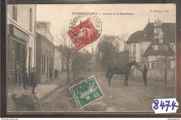 8474 AK PC CPA BOURBON LANCY AVENUE DE LA REPUBLIQUE - Francia