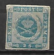 DANEMARK   -  1854 .   Y&T N° 3 * - 1851-63 (Frederik VII)