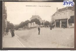 8475 AK PC CPA BOURBON LANCY PLACE DE LA REPUBLIQUE - Francia