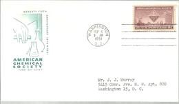 FDC  USA  1951 - Química