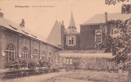 """PHILIPPEVILLE Acp """"Institut Soeurs Notre-Dame"""" Signé Desaix  écrite Voir Scans - Philippeville"""