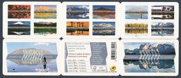 """2017 Carnet Adhésif BC 1360 REFLETS - Paysages Du Monde """" Neuf - LUXE ** NON Plié - Booklets"""