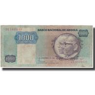 Billet, Angola, 1000 Kwanzas, 1987, 1987-11-11, KM:121b, TTB - Angola