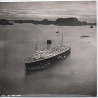"""Grande Photographie Aérienne/Retirage D'époque/Viet Nam/Baie D'Along/Paquebot """"PASTEUR""""/Frassati?/Vers1945-1955 PHOTN469 - Photos"""