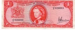 Trinidad & Tobago P.26c 1 Dollar 1964  Vf+ - Trinité & Tobago