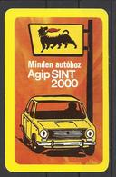 Hungary, Agip Sint Motor Oil AD,Lada, 1979. - Calendars