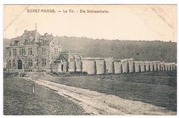 CPA : NAMUR RONET - Le Tir , Die Schiesshalle - Feldpost - Namur