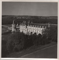 Grande Photographie Aérienne/Tirage D'époque/France/ Château De CHENONCEAU /Vers1930 - 1950         PHOTN470 - Otros