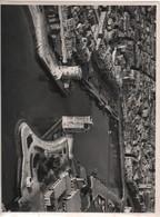 Grande Photographie Aérienne/Tirage D'époque/France/ Entrée Du Port De La ROCHELLE /Vers 1930 - 1950         PHOTN471 - Otros