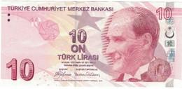 Billet, Turquie, 10 Lira, 1970, 1970-10-14, KM:223, SUP+ - Turquie