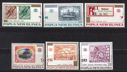 PAPOUASIE Nll GUINEE N° 253 à 258 Neufs** Cote 6.50€ - Papouasie-Nouvelle-Guinée