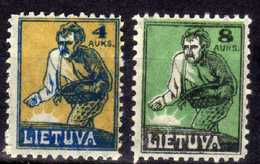 Litauen / Lietuva, 1922,  Mi 124-125 * [271018I] - Litauen