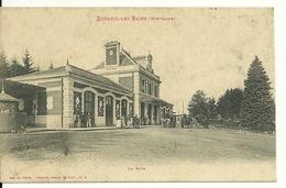 70 - LUXEUIL LES BAINS / LA GARE - Luxeuil Les Bains