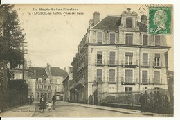 70 - LUXEUIL LES BAINS / RUE DES BAINS - Luxeuil Les Bains