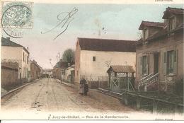 77 - JOUY LE CHATEL,  RUE DE LA GENDARMERIE (ECRITE) - Autres Communes