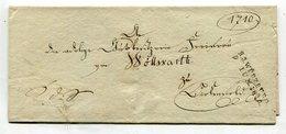 Bayern / 1815 / Vorphila-Briefhuelle L2-Stempel R.3.WUERZBURG (25343) - Allemagne