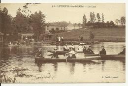 70 - LUXEUIL LES BAINS / LE LAC - Luxeuil Les Bains