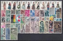ESPAÑA 1969 Nº 1898/1948 AÑO USADO COMPLETO CON TRAJES 51 SELLOS - España