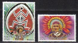 PAPOUASIE Nll GUINEE N° 318 à 319 Neufs** Cote 9€ - Papouasie-Nouvelle-Guinée