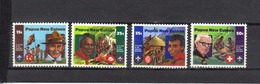 PAPOUASIE Nll GUINEE N° 426 à 429 Neufs** Cote 4€ - Papouasie-Nouvelle-Guinée