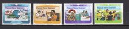 PAPOUASIE Nll GUINEE N° 458 à 461 Neufs** Cote 4€ - Papouasie-Nouvelle-Guinée