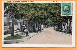 Santiago De Cuba 1921 Postcard Mailed - Cuba