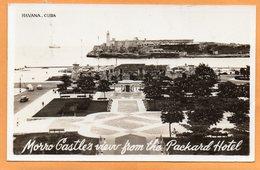 Havana Cuba 1950 Real Photo Postcard Mailed - Cuba