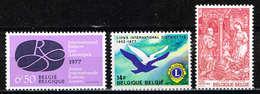 Lot Belg Selectie 1977 Postfris** - Ongebruikt