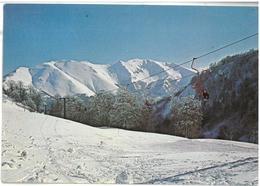 Lazio Campo Staffi Filettino (Frosinone) Seggiovia Valgranara Viaggiata 1980 - Italia