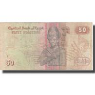 Billet, Égypte, 50 Piastres, Undated (1985- ), KM:58c, TB - Egypte