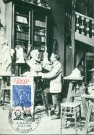 CM-Carte Maximum Card #1986 FRANCE #Architecture,Statue De La Liberté , Statue Of Liberty # A. Barholdi # Colmar - Maximumkarten