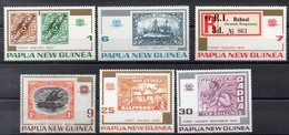 PAPOUASIE - NOUVELLE GUINEE    Timbres Neufs ** De 1973  ( Ref 50C ) Timbres Sur Timbres - Papouasie-Nouvelle-Guinée