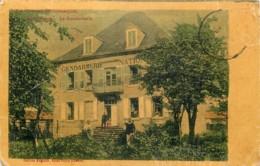 23 - SAINT VAURY - La Gendarmerie En 1910 (toilée Couleur) - Other Municipalities