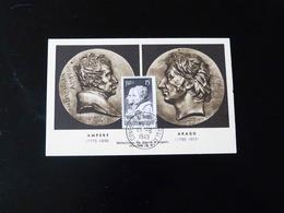 CARTE MAXIMUM -  AMPERE - ARAGO - 1940-49