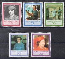 PAPOUASIE - NOUVELLE GUINEE    Timbres Neufs ** De 1986  ( Ref 52B ) Reine Elisabeth II - Papouasie-Nouvelle-Guinée