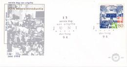 Nederland - FDC - Koninklijke PTT Naar De Beurs - Amsterdam - Juni 1994 - Beurshal - NVPH E325 - Post