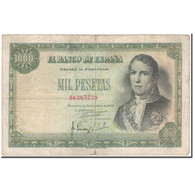 Billet, Espagne, 1000 Pesetas, 1949-11-04, KM:138a, B+ - [ 3] 1936-1975 : Régence De Franco