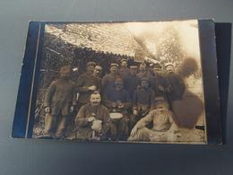 Cpa  Groupe De Soldats Du 70°. Villa Des Victoires - War 1914-18