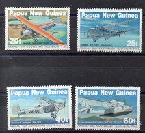 PAPOUASIE - NOUVELLE GUINEE    Timbres Neufs ** De 1984  ( Ref 52E )  Tranports - Avions - Papouasie-Nouvelle-Guinée