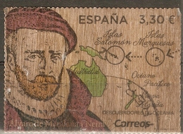 ESPAÑA 2018 EDIFIL 5245 ALVARO DE MENDAÑA USADO - 1931-Aujourd'hui: II. République - ....Juan Carlos I