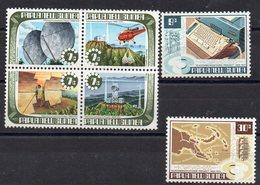 PAPOUASIE - NOUVELLE GUINEE    Timbres Neufs ** De 1973  ( Ref 53 )  Communications - Papouasie-Nouvelle-Guinée