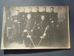 Cpa  Groupe De Soldats Du Génie Musiciens ANGERS De BAGNEUX 49 Près De Saumur - Regiments