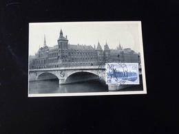 CARTE MAXIMUM - PARIS  PALAIS DE JUSTICE - 1940-49