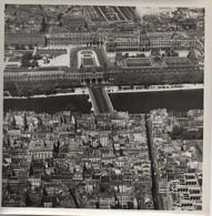Grande Photographie Aérienne/Tirage D'époque/France/ Carrousel Du Louvres/Paris/ Vers1930-1950   PHOTN480 - Otros