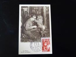 CARTE MAXIMUM - LES METIERS  LE SOUDEUR - 1940-49