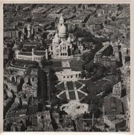 Grande Photographie Aérienne/Tirage D'époque/France/ Sacré Coeur De Montmartre/Paris/ Vers1930-1950   PHOTN481 - Otros