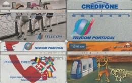 LOTTO 4 SCHEDE TELEFONICHE PORTOGALLO LANDIS (CE0277 - Portogallo