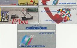 LOTTO 3 SCHEDE TELEFONICHE PORTOGALLO LANDIS (CE0278 - Portogallo