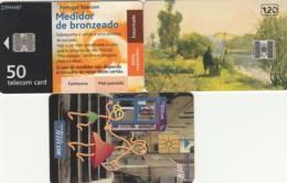 LOTTO 3 SCHEDE TELEFONICHE PORTOGALLO CHIP (CE0283 - Portogallo
